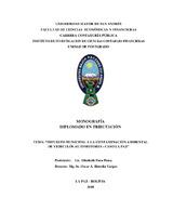 Impuesto Municipal a la Contaminación Ambiental de Vehículos